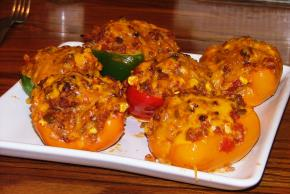Tri-Color Stuffed Peppers Image 2