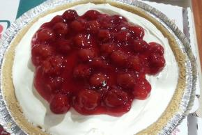 PHILADELPHIA® 3-STEP® No-Bake Cherry Cheesecake Image 3