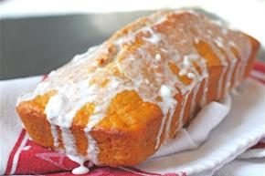 Wholesome Carrot Bread with Cream Cheese Glaze Image 2