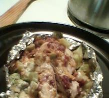 Foil-Pack Chicken & Broccoli Dinner Image 2
