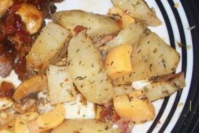 Roasted Potatoes With Bacon & Cheese Image 2