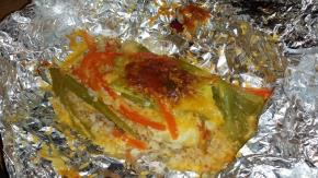 Foil-Pack Chicken Fajita Dinner Image 2