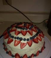 Patriotic Poke Cake Image 2