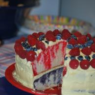 Patriotic Poke Cake Image 3