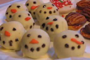 OREO Snowman Cookie Balls Image 3