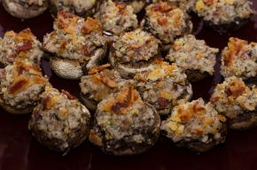 Double-Cheese Stuffed Mushrooms Image 2