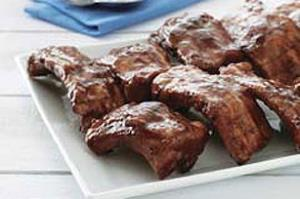 Baby Back Barbecue Ribs Image 2