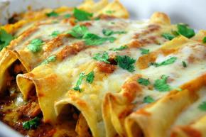 Cheesy Chicken Enchilada Bake Image 2