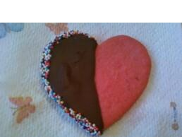 Black & White Heart Cookies Image 2
