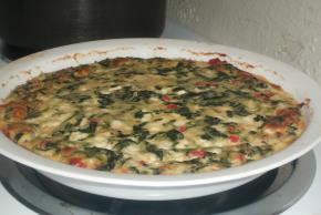 Quick Italian Spinach Pie Image 2