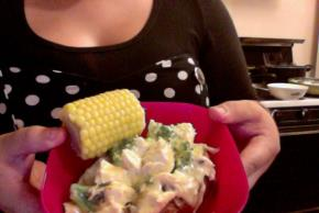 Creamy Chicken Broccoli Stuffed Potato Image 2