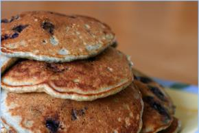 Blueberry Graham Pancakes Image 2