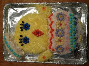 Baby Chick Cake Image 3
