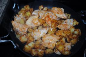 One-Skillet BBQ Chicken & Potato Dinner Image 2