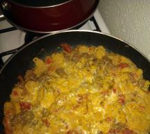 Cheesy Macaroni-Beef Skillet Image 2