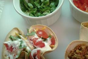 Mini Taco Bowls Image 2