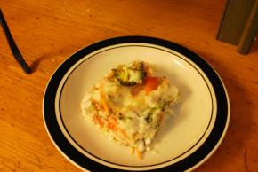 Vegetable Lasagna in Parmesan Cream Sauce Image 2
