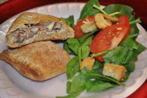Sausage & Vegetable Calzones Image 2