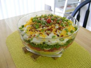 Layered Summer Salad Image 3