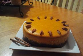 Spiced Pumpkin Cheesecake Image 2