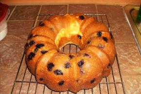 Lemon-Blueberry Swirl Cake Image 2