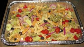 Zesty Feta and Vegetable Rotini Salad Image 2