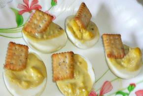 Creamy Guacamole-Stuffed Eggs Image 2
