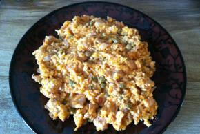 Chicken and Pigeon Peas Skillet Dinner Image 2