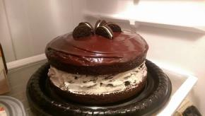 Chocolate-Covered OREO Cookie Cake Image 3
