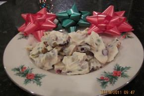 """Egg Nog"" White Chocolate Bark Image 2"
