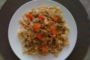 Creamy Beef & Mushrooms with Noodles Image 2