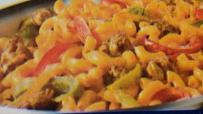 Cheesy Sausage and Peppers Skillet Image 2