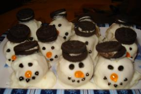 Melting Snowmen Cookie Balls Image 3