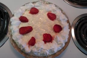 Strawberry-Pina Colada Pie Image 2