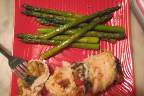 Spinach-Stuffed Chicken Breasts for Two Image 2