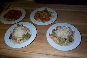 Parmesan, Chicken & Broccoli Pasta for Two Image 3