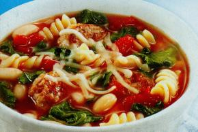 Hearty Italian Sausage Soup - Kraft Recipes
