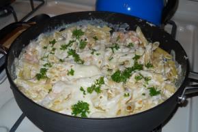 Creamy Lemon Shrimp Pasta Image 2