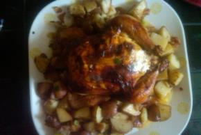 Rosemary-Roasted Chicken & Potatoes Image 2