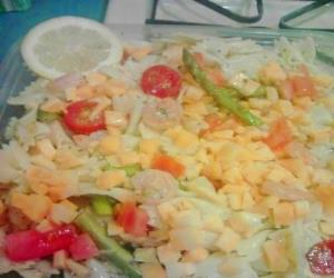 Lemon-Shrimp Pasta Salad Image 2