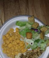 Herb-Crusted Chicken with VELVEETA® Shells & Cheese Dinner Image 2