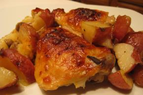 One-Pan Chicken and Potato Bake Image 2