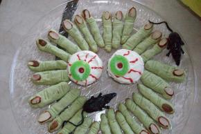 Frightening Witch's Finger Cookies Image 3
