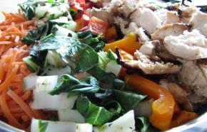 Asian-Style Cobb Salad with Sesame Grilled Chicken Image 2