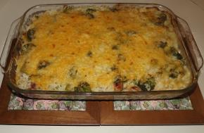 Cheesy Ham & Rice Bake Image 2