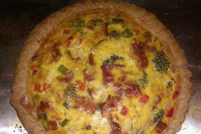 Broccoli & Cheddar Quiche Image 2