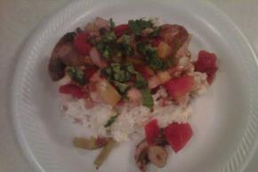 Chicken Cacciatore with Creamy Mashed Potatoes Image 3