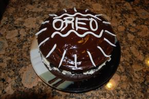Chocolate-Covered OREO Celebration Cake Image 3