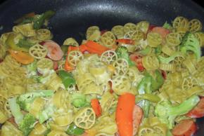 Chicken Sausage Pappardelle Pasta Recipe Image 2
