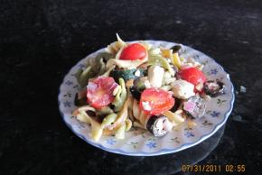 Zesty Feta and Vegetable Rotini Salad Image 3